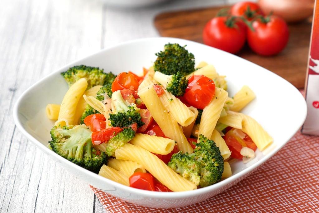 One Pot Pasta mit Brokkoli