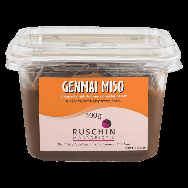 Ruschin Makrobiotik Bio Genmai Miso