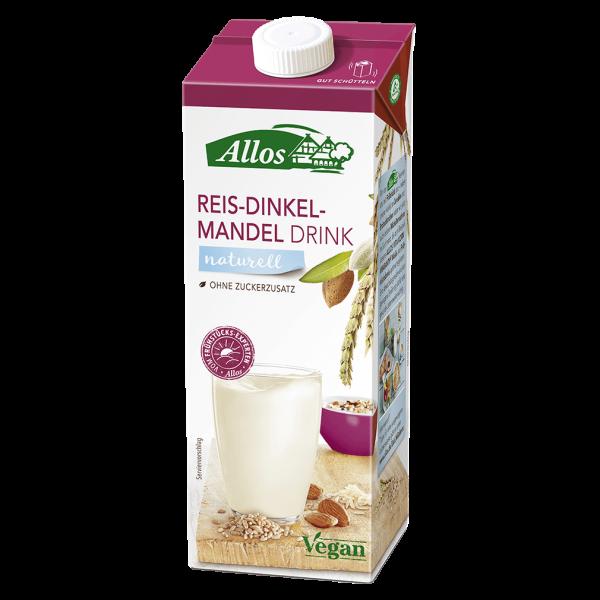 Allos Bio Reis-Dinkel-Mandel Drink naturell