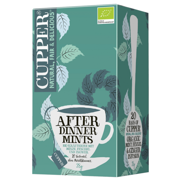 Cupper  Bio After Dinner Mints Tee, 20Btl