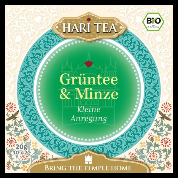 Hari Tea Bio Grüntee & Minze