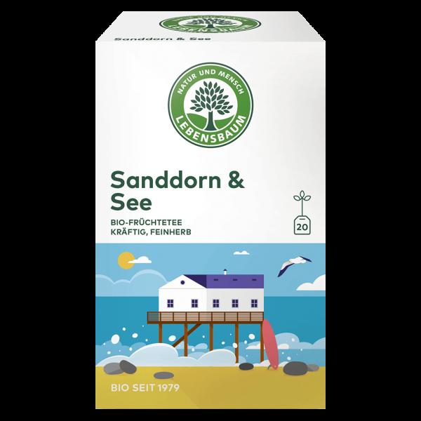 Lebensbaum Bio Sanddorn & See Tee, 40g