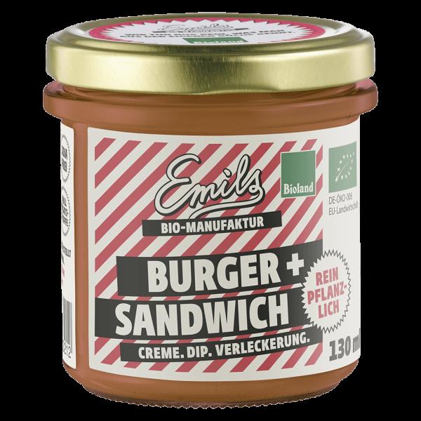 Emils Bio Burger- und Sandwichcreme