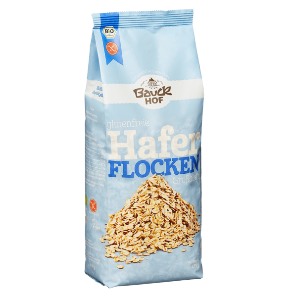 Bauckhof  Bio Haferflocken Großblatt glutenfrei