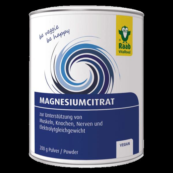 Magnesium Citrat Pulver 200g