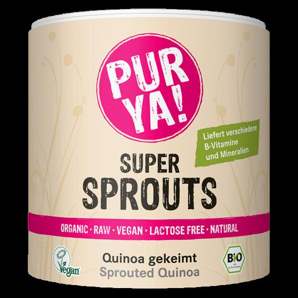 PURYA! Bio Super Sprouts Quinoa gekeimt
