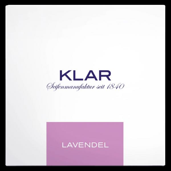 Klar Seifen Badeseife Lavendel