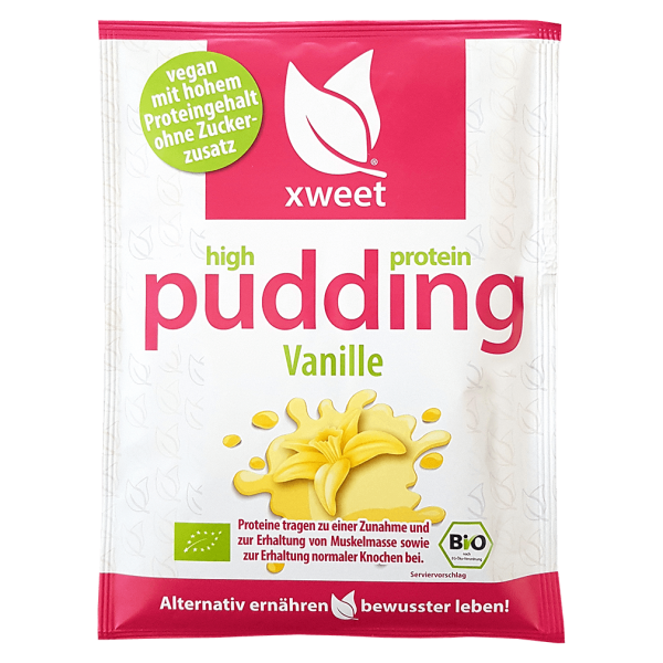 xweet Bio Proteinpudding Vanille