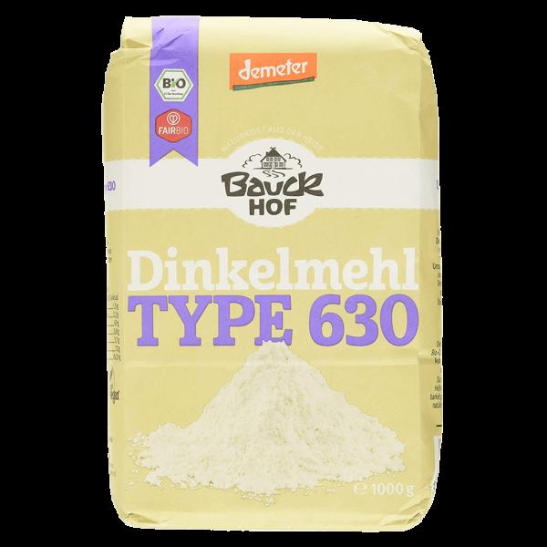 Bauckhof  Bio Dinkelmehl Type 630