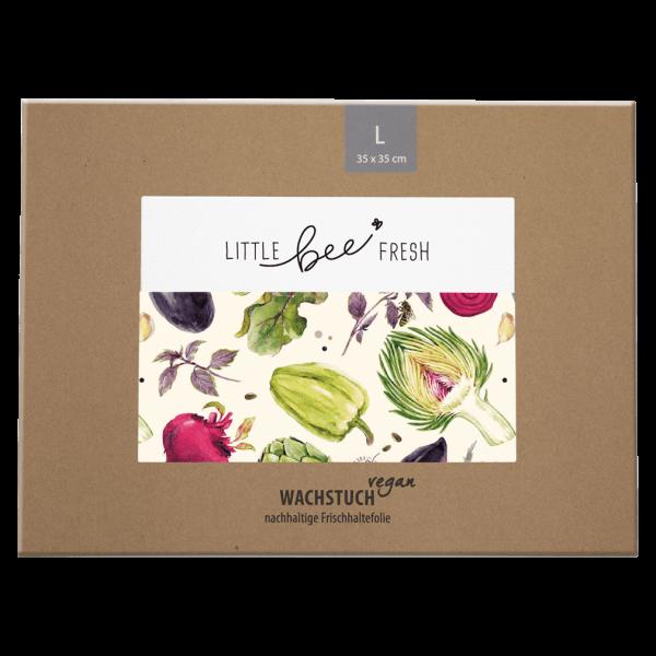 Little Bee Fresh Veganes Wachstuch Gemüse