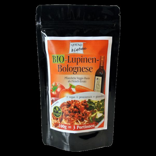 Gesund & Leben Bio Lupinen-Bolognese
