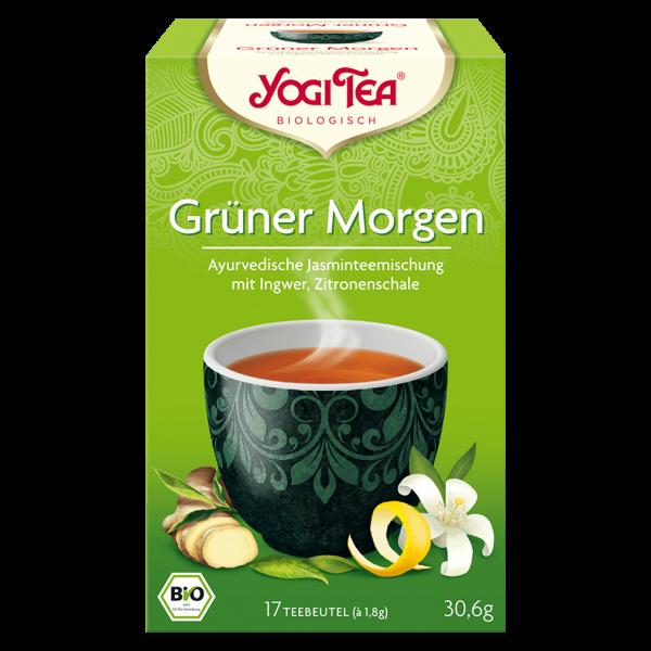 Yogi Tea Bio Grüner Morgen Tee