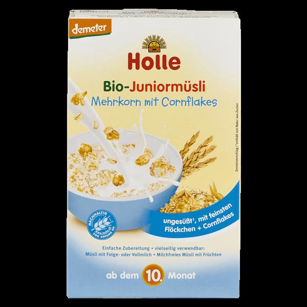 Holle Bio-Juniormüsli Mehrkorn mit Cornflakes, 250g