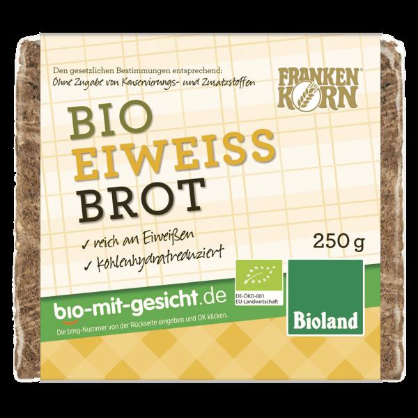 Frankenkorn Bio Eiweiss Brot