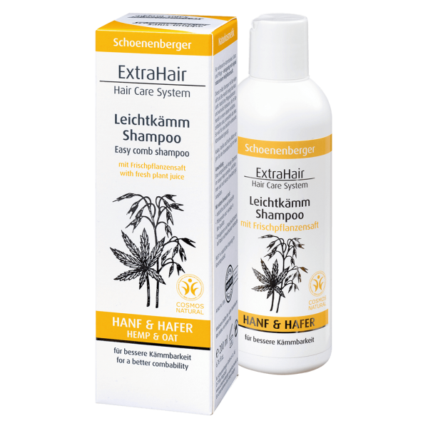 Schoenenberger ExtraHair® Leichtkämm Shampoo, 200ml