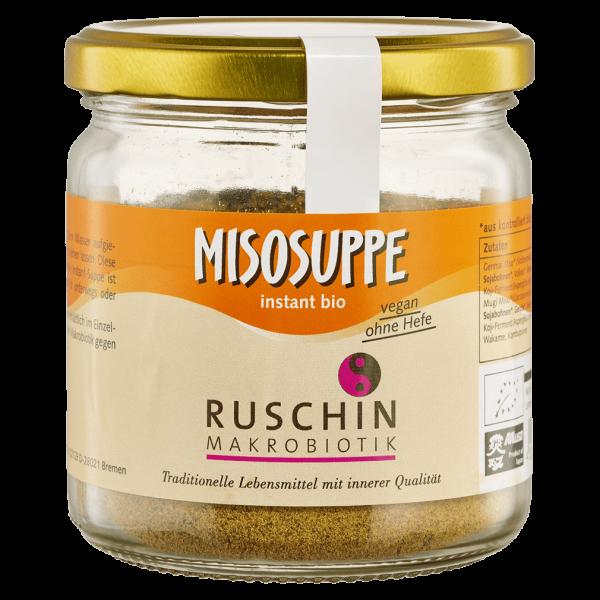 Ruschin Makrobiotik Bio Misosuppe instant