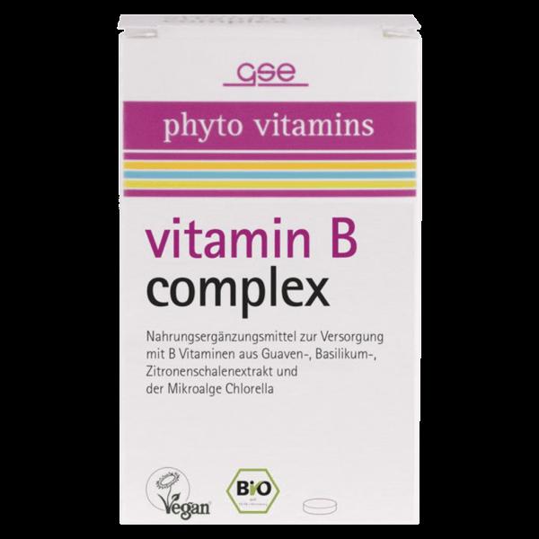 GSE Bio Vitamin B Complex 60 Tabletten