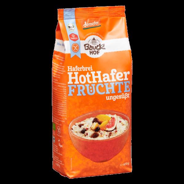Bauckhof  Bio Hot Hafer Früchte glutenfrei, 400g