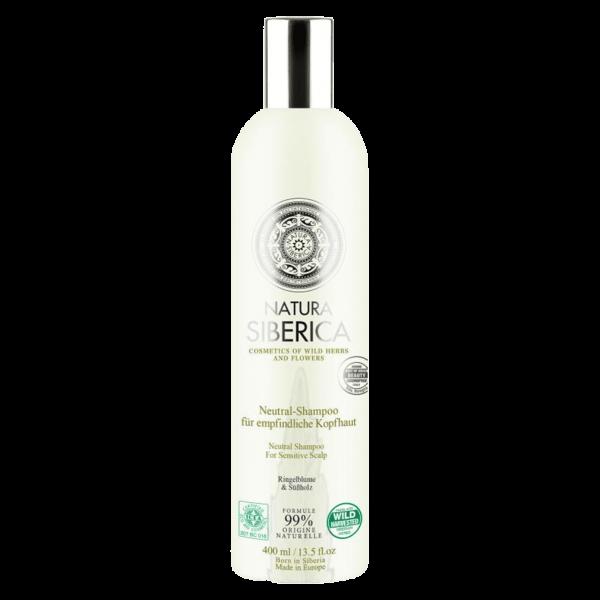 Natura Siberica Shampoo für empfindliche Kopfhaut