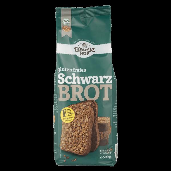 Bauckhof  Bio glutenfreies Schwarzbrot