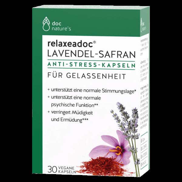 doc phytolabor Lavendel Safran Anti Stress Kapseln
