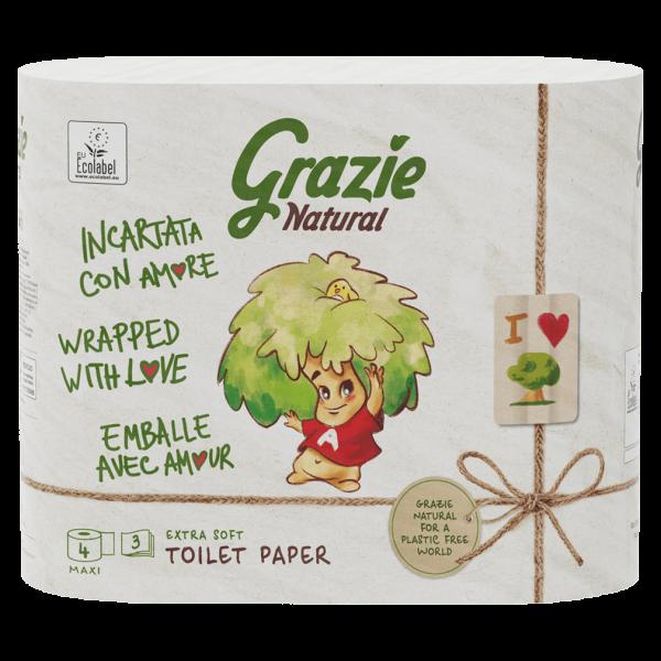 Grazie Natural Toilettenpapier Extra Soft