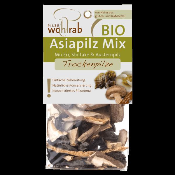 Pilze Wohlrab Bio Asiapilz Mix, getr, 20g