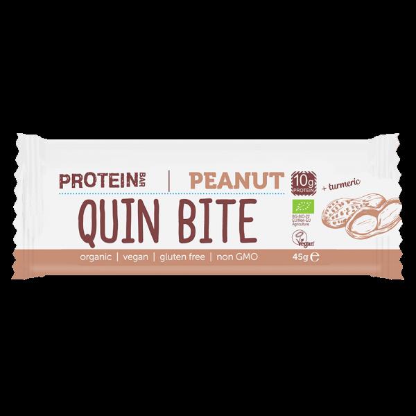 Quin Bite Bio Protein Bar Erdnuss
