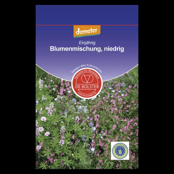 DE Bolster Bio Blumenmischung, niedrig