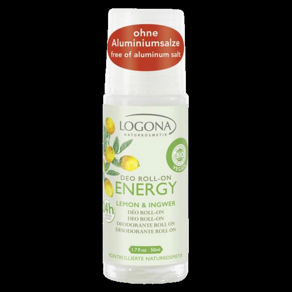 Logona Deo Roll On Energy Lemon & Ingwer