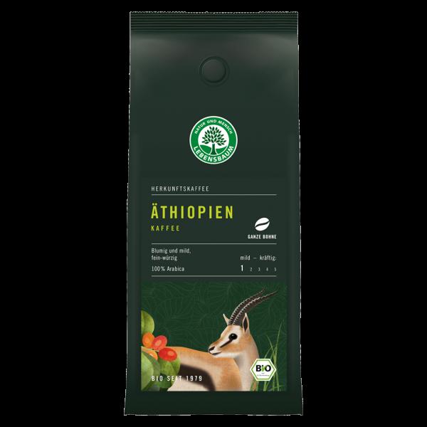 Lebensbaum Bio Äthiopien Kaffee, ganze Bohne