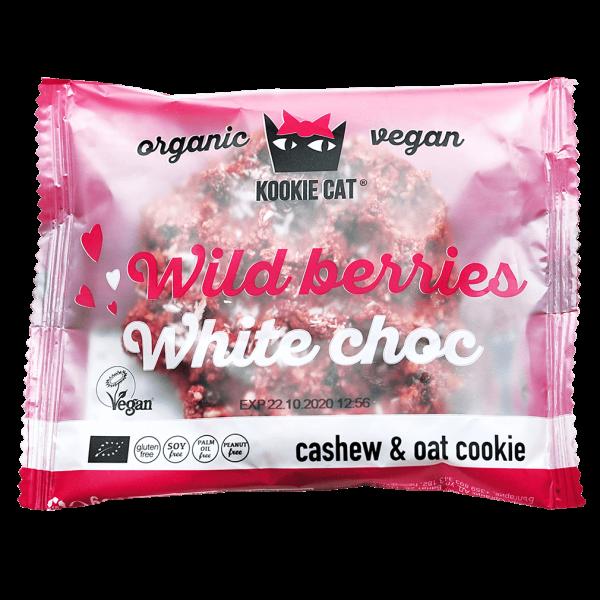 Kookie Cat Wild berries - White choc Cookie