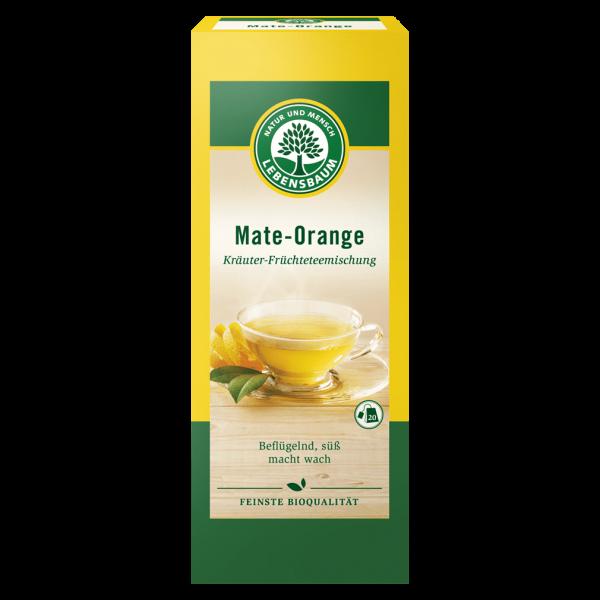 Lebensbaum Bio Mate-Orange Tee
