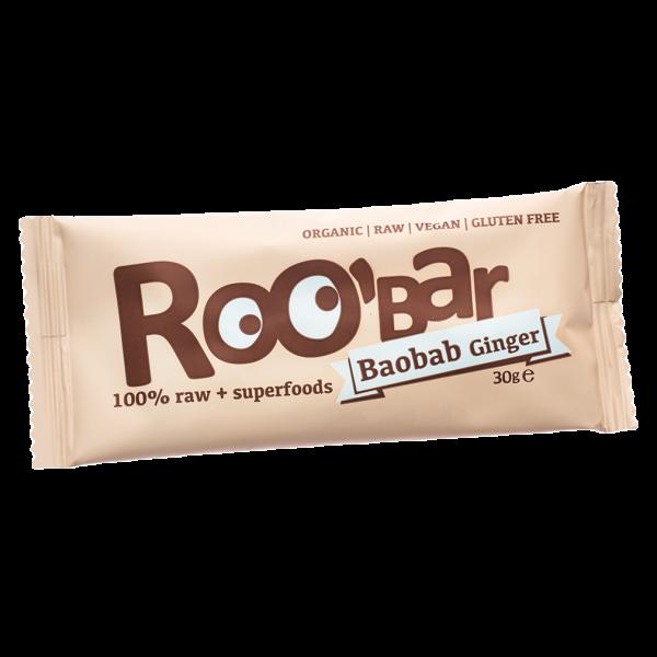 Bio Baobab-Ingwer Riegel