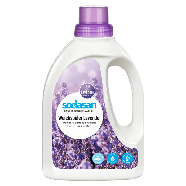 Sodasan Weichspüler Lavendel, 750ml