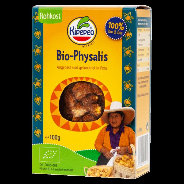Kipepeo Bio Physalis getrocknet