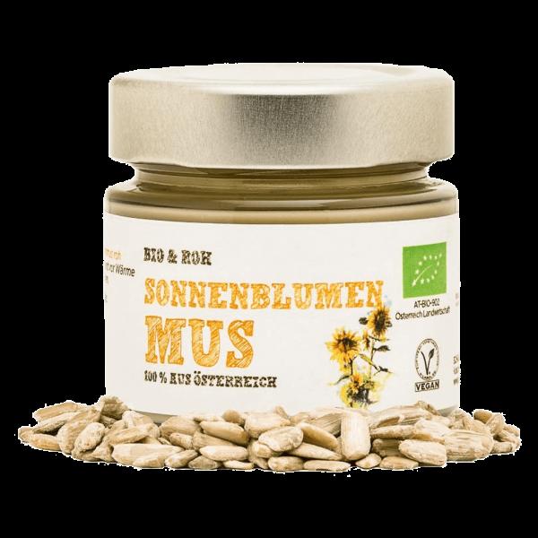 Schalk Mühle Bio Sonnenblumenkern Mus roh