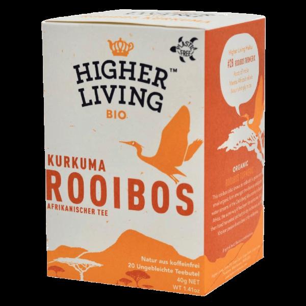Higher Living Bio Rooibos Kurkuma, 20Btl