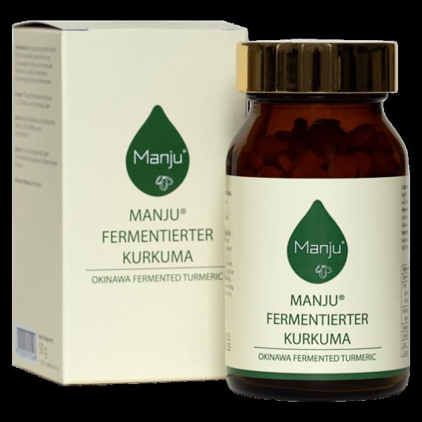 Manju Manju Fermentierter Kurkuma 250 Tabletten