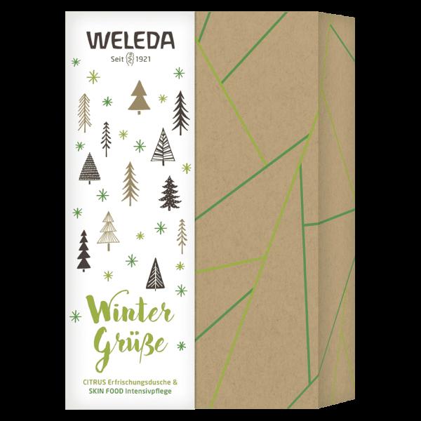 Weleda Geschenkset Wintergrüße Citrus & Skin Food