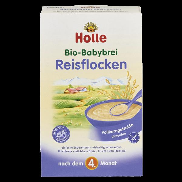 Holle Bio-Babybrei Reisflocken, 250g