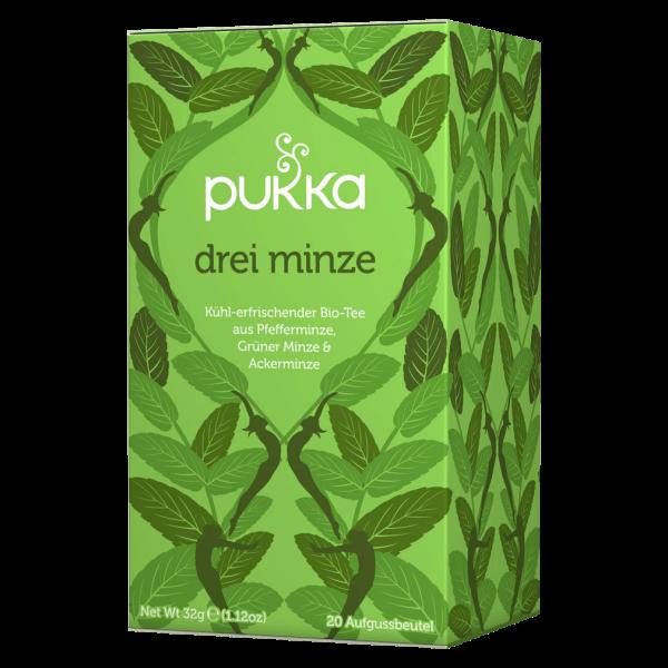 Pukka Bio Drei Minze Tee