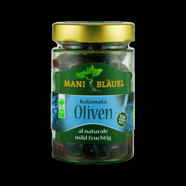 Mani Bio Kalamata Oliven al Naturale