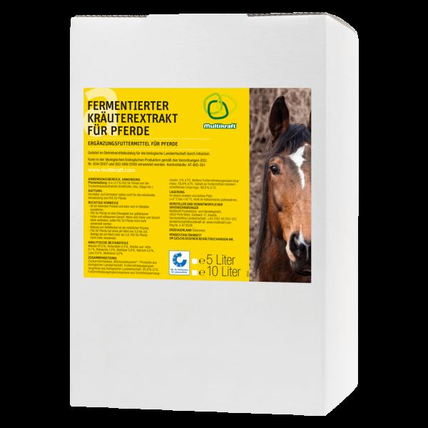 Multikraft FKE Fermentierter Kräuterextrakt für Pferde, 10 L
