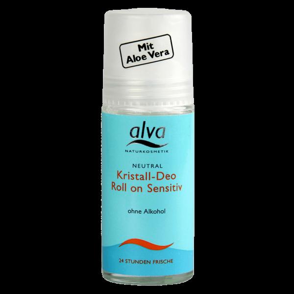 alva Neutral Kristall-Deo Roll-On Sensitiv, 50ml