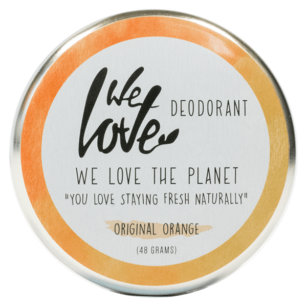 We Love The Planet Deocreme Original Orange