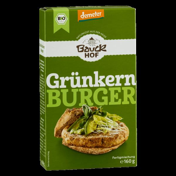 Bauckhof Bio Grünkern Burger