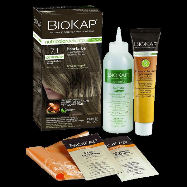 BioKap Haarfarbe Schwedisches Blond Nr. 7.1