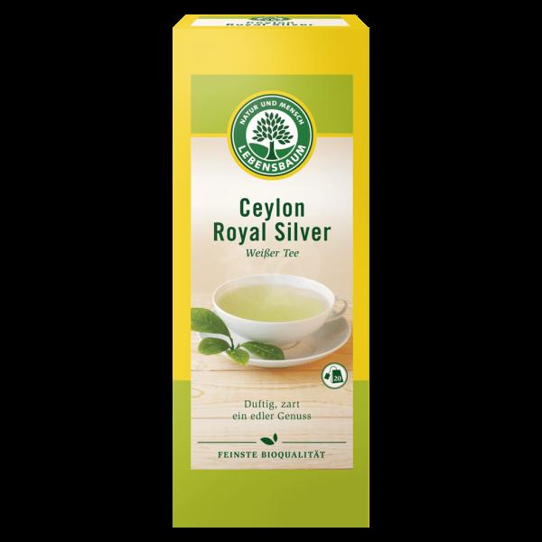 Lebensbaum Bio Ceylon Royal Silver Weißer Tee