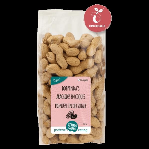 TerraSana Bio Erdnüsse in Schale geröstet